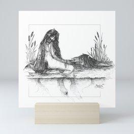 Kelpie sisters Mini Art Print