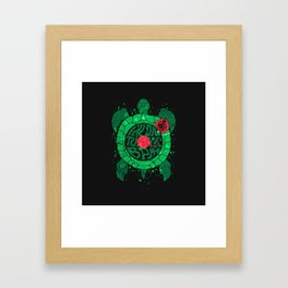 Turtle BPM Framed Art Print