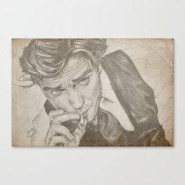 Robert Pattinson Canvas Print