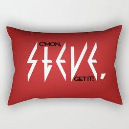 C'mon, Steve, Get It! Rectangular Pillow