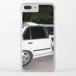 I've been waiting for you the whole week. It's time to play Clear iPhone Case