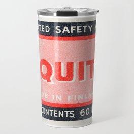 Old Matchbox label #2 Travel Mug