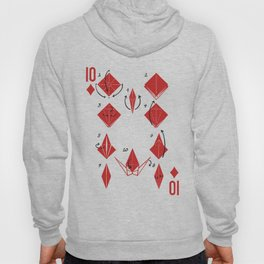Clipped Wings Deck: The 10 of Diamonds Hoody