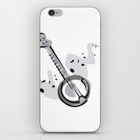 banjo iPhone & iPod Skins featuring Banjo by shopaholic chick