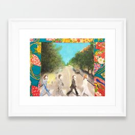 Abbey Road Framed Art Print