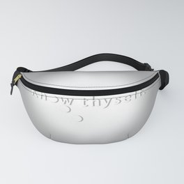 Know Thyself - Socrates Fanny Pack