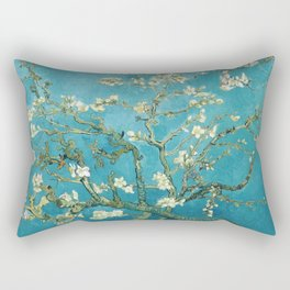 Almond Blossoms by Vincent van Gogh Rectangular Pillow