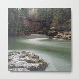 Moulton Falls State Park Bridge | Washington Metal Print