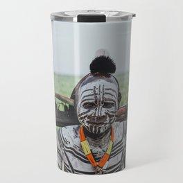 Karo Tribe V Travel Mug
