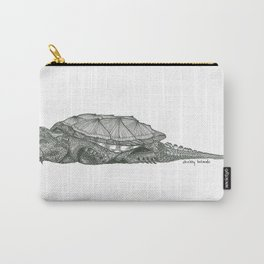 Common Snapping Turtle Carry-All Pouch