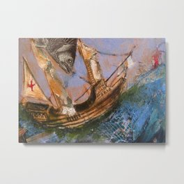 Sea Worthy Metal Print