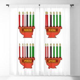 Kwanzaa Blackout Curtain