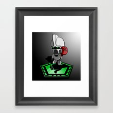 The Hitchhikers Guide to the Galactica Framed Art Print