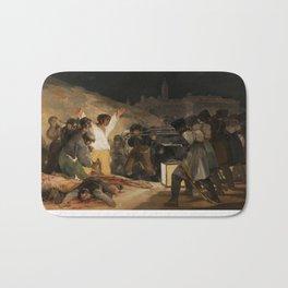 The Third of May by Francisco Goya Bath Mat