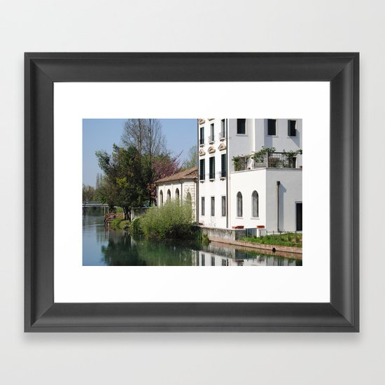 Th North house Framed Art Print
