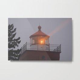 Guiding Light Metal Print