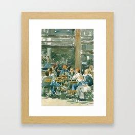 Au Soleil Framed Art Print
