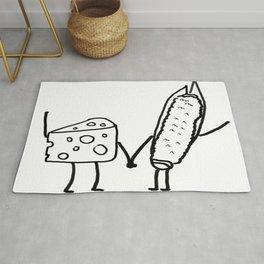 Cheesy & Corny Rug