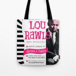 Lou Rawls - Vintage Jazz Poster Tote Bag