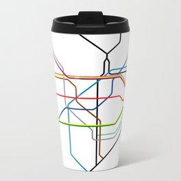 London tube Metal Travel Mug