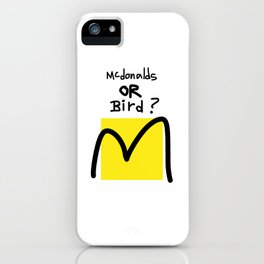 McBird iPhone Case