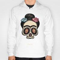 frida Hoodies featuring Frida by mangulica illustrations