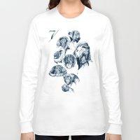 arctic monkeys Long Sleeve T-shirts featuring Seven Monkeys by Philipp Zurmöhle