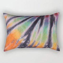 70s Spiral Pattern - Pride Rectangular Pillow