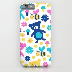 Bee and Bear Children's Pattern iPhone 6s Slim Case