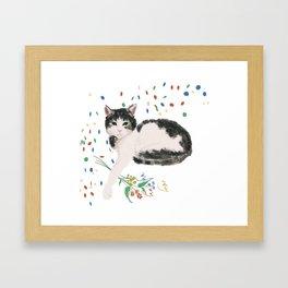 Flowers For Frankie Framed Art Print