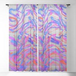 Tsunami ... Sheer Curtain
