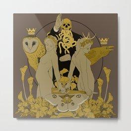 Serpentes Emesis (Rotten Yellow) Metal Print