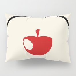 A Bite of the Apple Pillow Sham