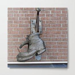 Wooden Boot Metal Print