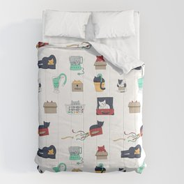Contain Yourself -- Pattern Comforters