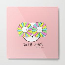 Sixth sense-flowereyes Metal Print