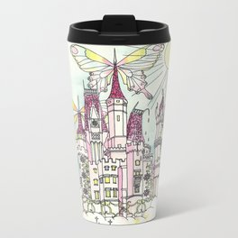 Melting Icecream Fairy Castle Metal Travel Mug