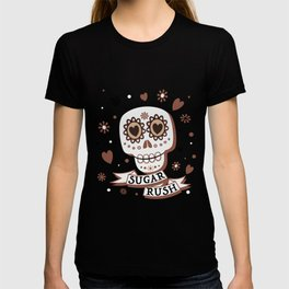 Sugar Rush in Coffee and Cream T-shirt