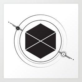 minimal.Titan Art Print