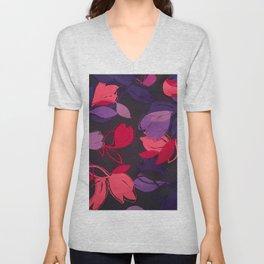 Silk Florals 1 Unisex V-Neck