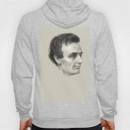 Abraham Lincoln Without Beard, 1860 Hoody