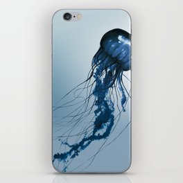 Blue Danube, Pacific Sea Nettle iPhone Skin