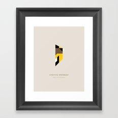 Evening Grosbeak Framed Art Print