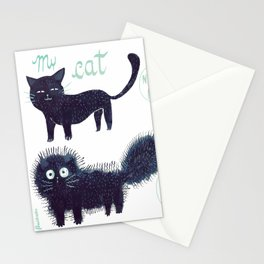 The scary sound of the bell Stationery Cards