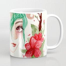 Zodiac sign- Aries Watercolor paint Coffee Mug