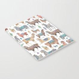 Llamas and Alpacas Notebook