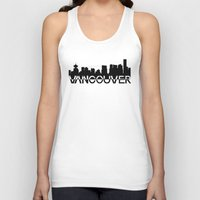 vancouver Tank Tops featuring Vancouver  by Allison Kiloh
