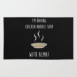 Chicken Noodle Soup With Alma Rug