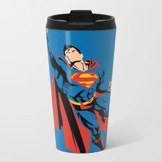 DC - Superman Metal Travel Mug