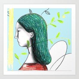 dama Art Print